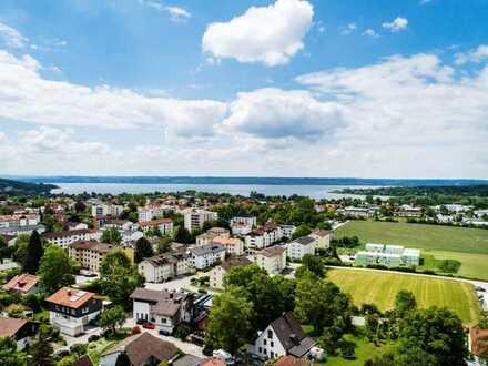 Neubauvorhaben Herrsching am Ammersee - natürlich wohnen mit Blick über die Stadt HAUS 3