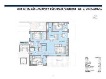 WHG Nr. 8: 4 Zimmerwohnung