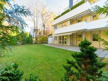Exklusive Gartenwohnung in Bestlage Harlaching-Menterschwaige