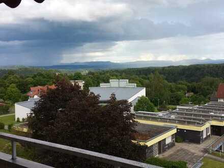 Wohnung mit traumhaften Ausblick auf die schwäbische Alb.