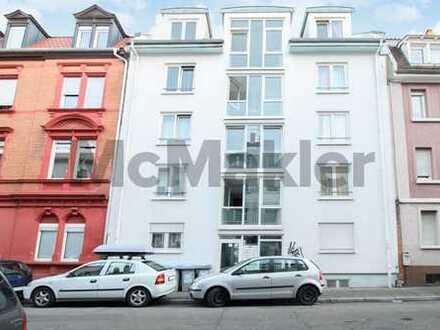 Gepflegt und vermietet: 1-Zi.-Apartment als mögl. Kapitalanlage nahe der Innenstadt