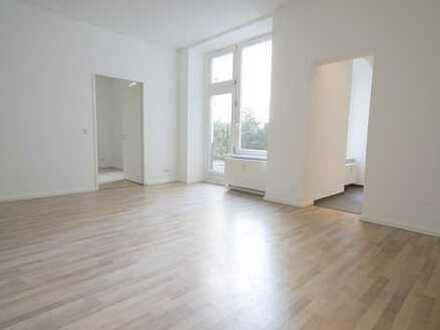 Teilgewerblich zu vermieten - Ruhige 2 Zimmer Erdgeschoss-Wohnung mit Garten - Nähe Planufer
