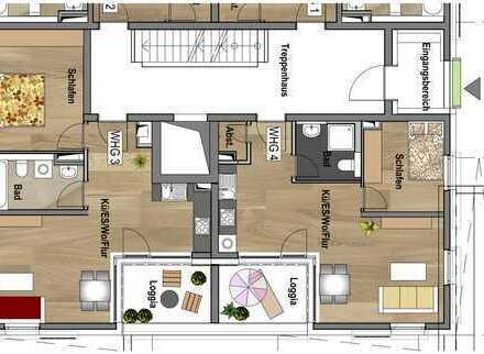 Erdgeschoss - Wohnung 04