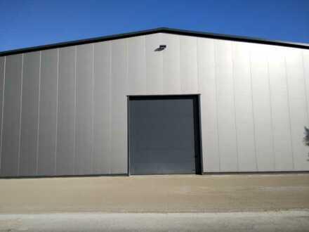 Neue 450 m² große Halle, 6,50 Meter hoch