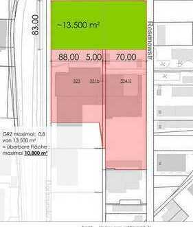 *** LAGER / PRODUKTION / BÜRO | EBENERDIG | BMW-NÄHE | ca. 10.500 m² zzgl. weitere Nutzfläche ***