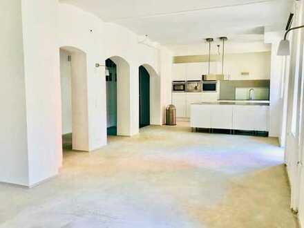 Stilvoll puristisches 5 Zimmer Loft im Jugendstilgebäude - einzigartig - Kleinweidenmühle