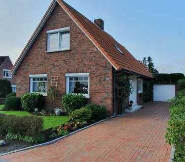 Sehr gepflegtes Einfamilienhaus mit Garage und Wintergarten in ruhiger Lage in Emden-Twixlum!