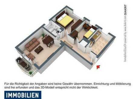 Schön gelegene 3 Zimmerwohnung in Steinau a.d. Straße - ca. 70 km bis Frankfurt! *Citynah*