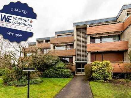 Start ins Wohnglück in Alt-Osdorf! 3-Zimmer-Wohnung mit Einzelgarage und Sonnenbalkon