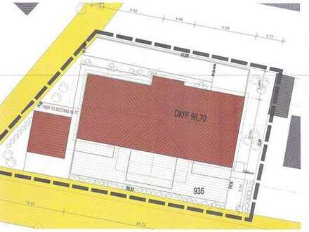 Zentrales Baugrundstück Innenstadt, Südlage für MFH mit TG und Aufzug, Baugenehmigung liegt vor!