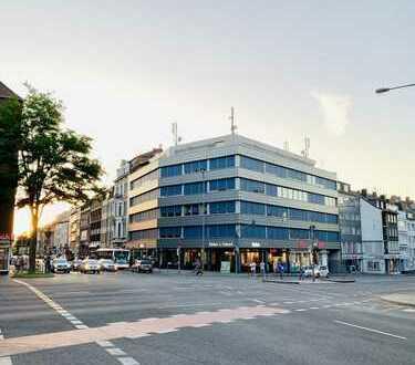 Barrierefreie Büroetagen an der Normaluhr in Aachen