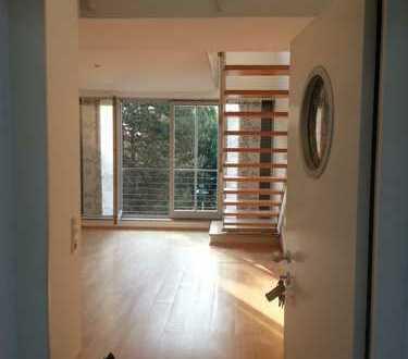 Helle und ruhige 2-Zimmer-Maisonette-Wohnung