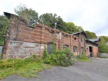 IMWRC – Investor mit Weitblick gesucht! Oberbarmen bietet ca. 4000 m² in ehemaligem Fabrikareal!