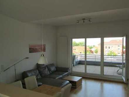 Schöne, ruhig gelegene, 3-Zimmer Dachterrassenwohnung im Röthelheimpark