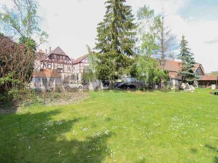 Leer stehendes Bauland im Herzen der Altstadt von Babenhausen
