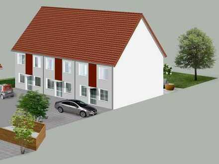 3 Reihenhäuser mit Ausbaureserve und Garten - Haus 1