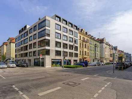 Moderne 3 Zi-Stadt-Wohnung mit Wintergarten und Balkon in prämiertem EUROBODEN-Architekten-Stadthaus