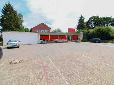 Gute Kapitalanlage direkt neben Bremen: Rund 450 m² Gewerbeflächen und Wohnung