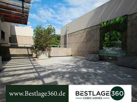 Penthousewohnung mit großer Dachterrasse in Ffm.-Diplomatenviertel