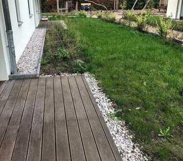 tolle Wohnung mit Kaminanschluss, Gartenanteil und Tiefgarage!