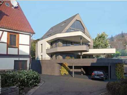 Modern und außergewöhnliche Architektur: 4-Zi-Wohnung im OG 1