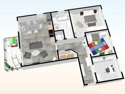 Whg. - 06 - im OG mit 105,78 m²