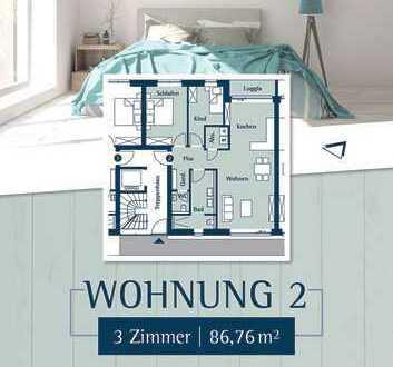 Komfortable 3 Zimmer Wohnung, Hochparterre, am Klostergarten in Husum