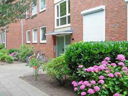 Ideal geschnittene 3-Zimmer-Eigentumswohnung in zentraler Lage von Ohlsdorf