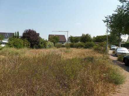 Baugrundstück für eine Doppelhaushälfte in Altrheinnähe