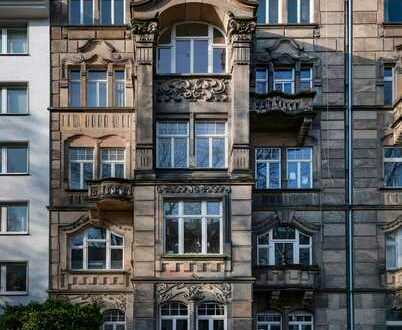 Stilvolle, vollständig renovierte 4-Zimmer-Wohnung mit Balkon in Mainz