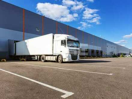 ab Mitte 2019: 16.000 m² Logistikfläche