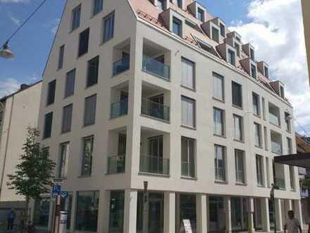 Exklusive, neuwertige 3-Zimmer-Maisonette-Wohnung mit Balkon und direktem Münsterblick, WG-geeignet
