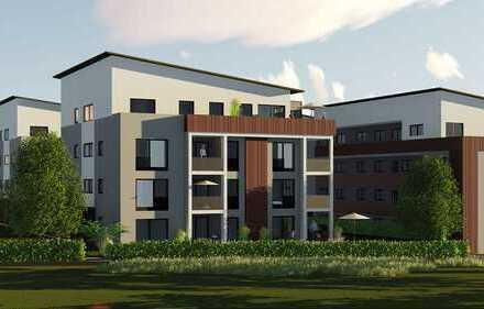 Letzte Wohnung Haus B1: Helle, lichtdurchflutete 3-Zimmer-DG-Wohnung mit großer Dachterasse
