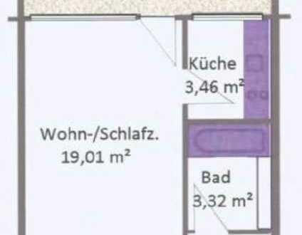 Schöne ein Zimmer Wohnung in München, Laim