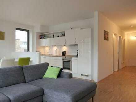 Quartier Amalie - moderne 2 ZKB mit Parkett und Balkon mit Südausrichtung