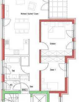 Erstbezug Neubau 3-Zimmer-EG-Wohnung, Flein, Hardtstr. 3