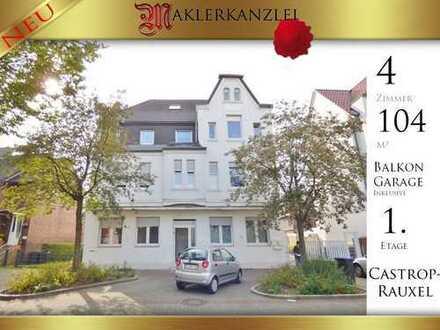 +++ NEU +++ Schöne 104m² Wohnung (2 Zimmer) mit Balkon und 2 Garagen