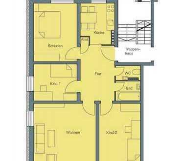 Erstbezug nach Sanierung mit EBK: freundliche 4-Zimmer-Wohnung in Lehel; in Uninähe WG-geeignet