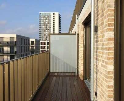 Die Weser als Nachbar - mit Dachterrasse und Balkon