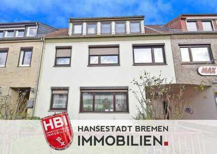 Walle / Mehrfamilienhaus mit 3 Wohnungen und großem Garten