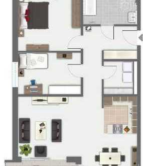 SINSHEIM: WOHNQUARTIER ELSENZ MITTE HAUS 1, Wohnung Nr. 1.04 im 1. Obergeschoss (# 3987-1c)