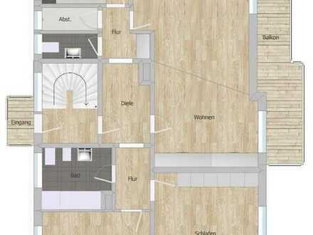 Helle 3 Zimmer Whg. mit Südbalkon + großem Wohn- Essbereich