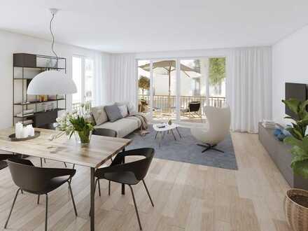 Jetzt im Bau: Schöne 2-Zimmer Wohnung im Quartier Papiergäßle in Waldkirch