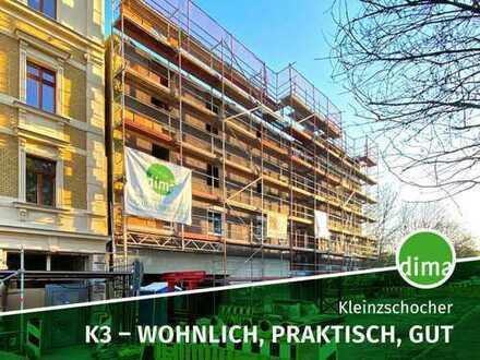 Baubeginn | K3 - wohnlich, praktisch, gut | 2 Dachterrassen, Tageslichtbad + GästeWC, Aufzug, Garage