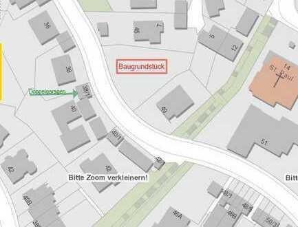 Baugrundstück Halbhöhenlage mit Weitblick auf Stuttgart, sehr ruhig, im beliebten Lehenviertel