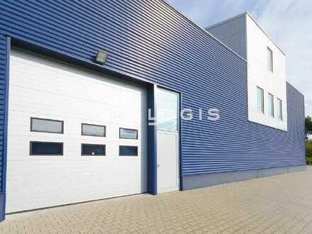 Ca. 1.500 qm Lager-/ Logistikflächen mit Freifläche zu vermieten!