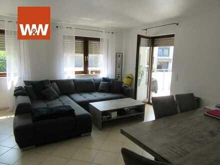 Vermietete 2,5 Zimmer Wohnung in Singen mit Terrasse