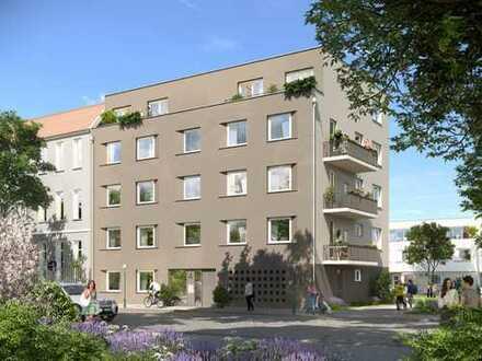 LEBENDIG - Modernes Singleapartment in grüner Umgebung und nur 17 Minuten zum Alexanderplatz