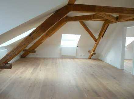 Kandel: Ausgefallene Dachgeschosswohnung mit EBK für den Single!