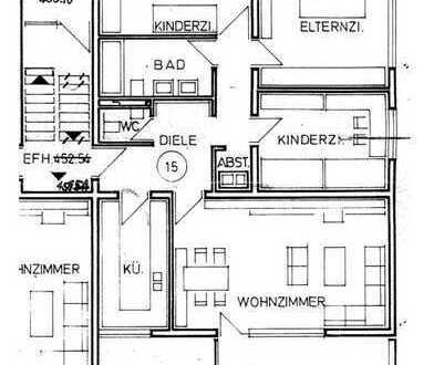 Großzügige 4-Zimmer-Wohnung mit hervorragender Ausstattung und separatem Schlafbereich